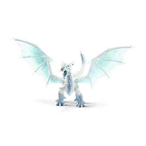 Schleich Eldrador Creatures Ice Dragon Toy Action Figure for Kids Ages 7-12