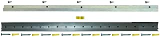 Hangman - Professional French Cleat – For Mirrors, Pictures, Ledges, Cabinets & Headboards - Aluminum: CBH-18