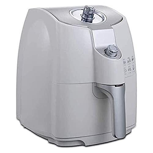 Freidora de Aire Cocina Cocina de horno de la freidora de aire eléctrico de 1.8L con control de temperatura, canasta de freír antiadherente, guía de recetas de la función de apagado automático