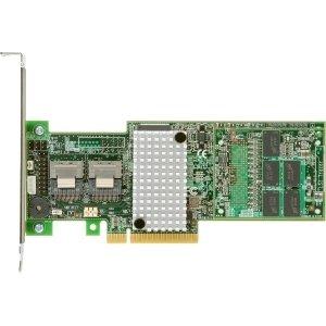 Controlador RAID SAS Intel de 8 puertos - Serial ATA/600 - PCI Express x8 - Tarjeta plug-in - Compatible con RAID - 0, 1, 5, 6, 10, 50, 60 Nivel RAID - 2 Puertos SAS Internos - RS25DB080