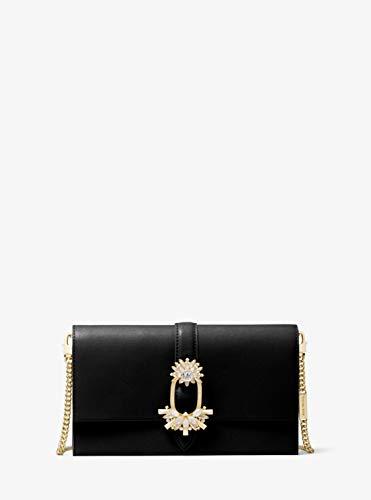 Michael Kors Cece Ladies Large Black Leather Crossbody Bag 32H9G0EC7U001