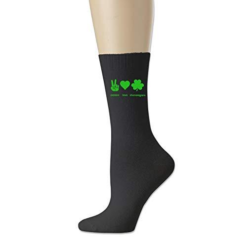 Calcetines deportivos unisex de San Patricio que absorben la humedad, calcetines casuales, calcetines cortos flexibles y transpirables