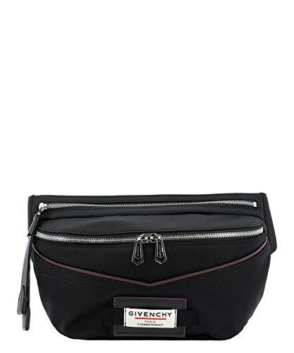 Luxury Fashion | Givenchy Heren BKU007K0S9001 Zwart Acrylic Heuptas | Lente-zomer 20