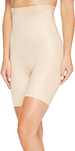 SPANX Power Conceal-Her High-Waisted Mid-Thigh Short Natural Glam XL
