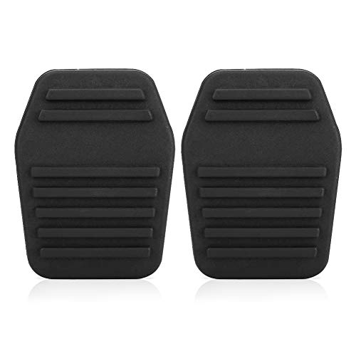 Una coppia di pastiglie frizione pedale auto copertura, copertura del pedale frizione gomma auto