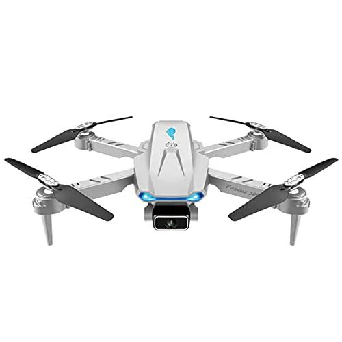 S89 Ultraleichter und Faltbarer Drohnen-Quadkopter,4K HD Kamera,120° Weitwinkel haltbar,WiFi FPV Höhe wartbar Mini-Drohne RC Quadrocopter Quadcopter Drone,für Kinder und Anfänger (Einzelkamera, Grau)