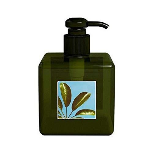 Cielo azul Planta de hojas Fotos Nature Bomba de Botella dispensador de líquido de jabón