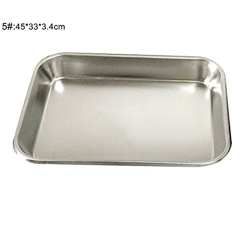 Buy Bargain aXXcssqw9b Tray Plate Bakeware ,Oven Pan Cake Cookies Pizza Baking Tray Plate,Stainl...