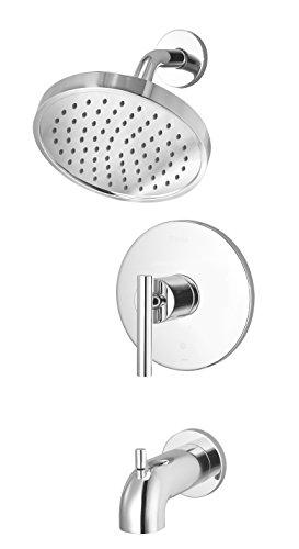 Pfister LG898NCC Contempra-Bath 1-Handle Tub and Shower Trim, Polished Chrome