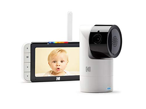 KODAK Cherish Video Baby and Monitor Mobile App - Hi-res Baby Camera with Remote...