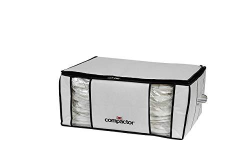 COMPACTOR Housse de Rangement Sous Vide, RAN3066, BLANC / GRIS, 210L, 50x65xH.27