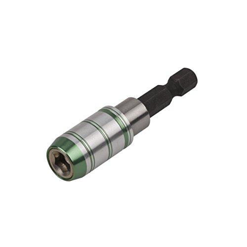 Wolfcraft 2986099 Porte-embout magnétique Quick-Lock Gris/Argent