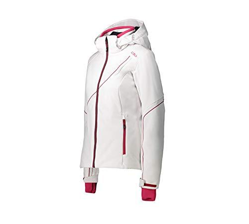 CMP Hoodie Damen Skijacke Softshell Full Zip Weiß 36