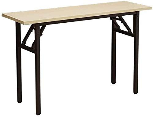 Sólido Mesa Plegable de Mad era Mesa Plegable de Escritorio Personal de mesas y sillas al Aire Libre de formación Sencilla de conferencias Larga Mesa de conferencias Multifuncional Mesa de Comedor en