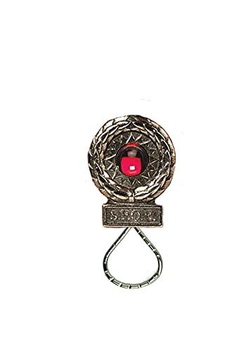 ww74 - Broche de estaño inglés con emblema de la victoria romana para gafas, bolígrafo, identificación, joyería