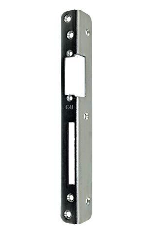 GU BKS Secury Sicherheits Haustür Schließblech 250x30x25x3mm vorgerichtet für e-öffner Links