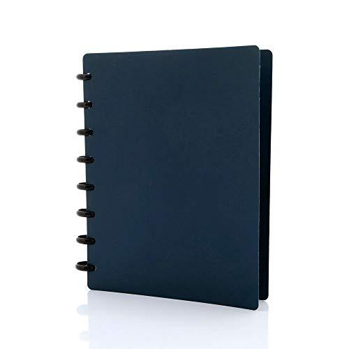 Spiralbuch arc PP befüllbar blau A5 60 Blatt