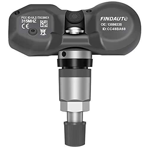 FINDAUTO Replacement for Tire Sensor 315MHz GM Original Equipment Tire Pressure Monitoring System TPMS for Buick for Cadillac for Chevrolet for GMC for Hummer for Pontiac Replaces 13598772 974-009
