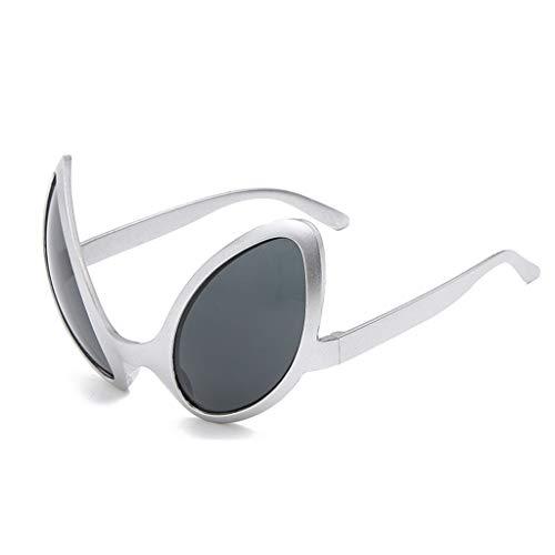 Selma. Gafas de disfraz divertidas de Aliens, lentes de arco iris, gafas de sol ET, accesorios para fiestas de Halloween, accesorios para adultos y niños para deportes al aire libre, Mujer, E, talla única