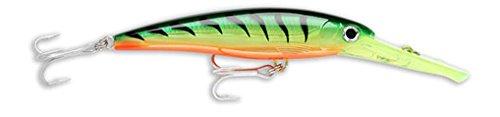 Rapala XRMAG40FT X-Rap Magnum 40 Firetiger Fishing Terminal Tackle, Firetiger, 40