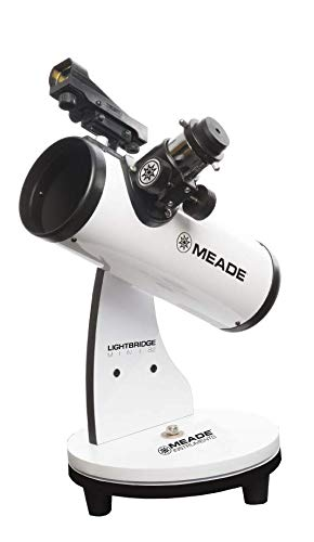 Review Meade Instruments LightBridge Mini 82 Telescope, White (203001)