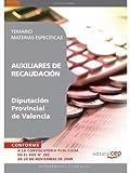 Auxiliares de Recaudación de la Diputación Provincial de Valencia. Temario Materias Específicas (Colección 1461)