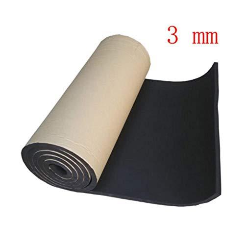 HEHUANG 1 rol 3 mm 5 mm 8 mm auto akoestisch schuim rubber geluidsisolatiemat auto luidspreker geluidsisolatie trillingsisolatie 3 mm