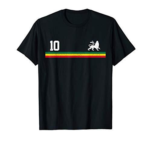 Rastafari Reggae Rasta Lion Of Judah Geschenk T-Shirt