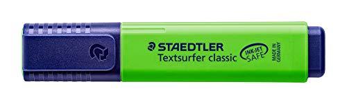 Staedtler Textsurfer Classic Highlighter Inkjet-safe Line Width 2.5-4.7mm Blue Ref 3646 [Pack of 10] Photo #2