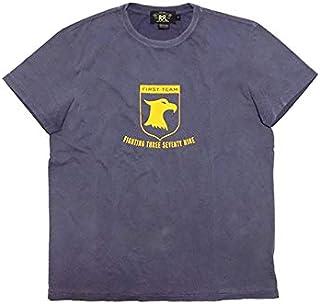 (ダブルアールエル)RRL ラルフローレン メンズ ダブルアールエルイーグルプリントTシャツ ネイビー M [並行輸入品]