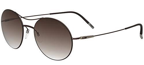 Silhouette Gafas de Sol TITAN BREEZE 8694 BROWN/BROWN SHADED talla única mujer