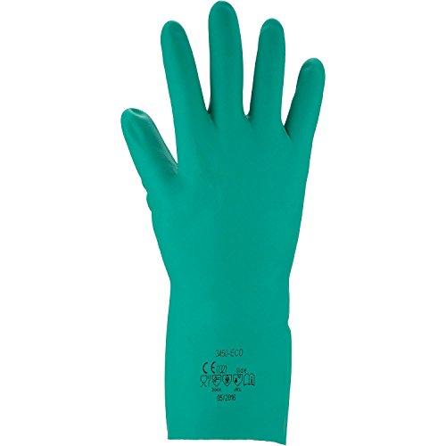 ASATEX Chemikalienschutz-Handschuh - Nitril 3450-ECO, grün, Gr. 7 (12 Paar)