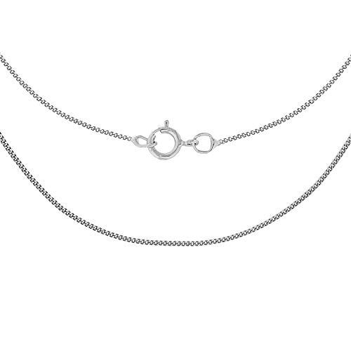 Carissima Gold Collar de mujer con oro blanco 9 K (375), 41 cm