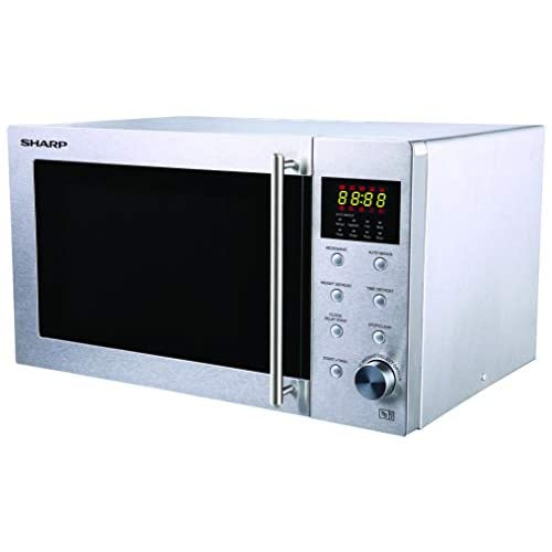 31JbtlpbONL. SS500  - Sharp R28STM Solo Microwave, 23 Litre capacity, 800W, Stainless Steel
