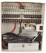 12VDC / 24VAC Power Distribution Box, 9 Ports DC and 9 Ports AC Combo, 18 Ports, 9 Amps