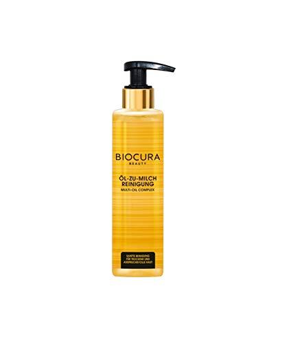 BIOCURA Beauty Öl-zu-Milch Reinigung MULTI-OIL Complex 200ml