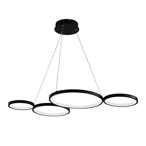 Lámpara de techo LED moderna de 60 W, para salón, regulable, estilo vintage