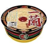 【一蘭】一蘭 カップラーメン 1ケース分(12個セット) とんこつ 秘伝のたれ付 カップめん 豚骨 とんこつラーメン