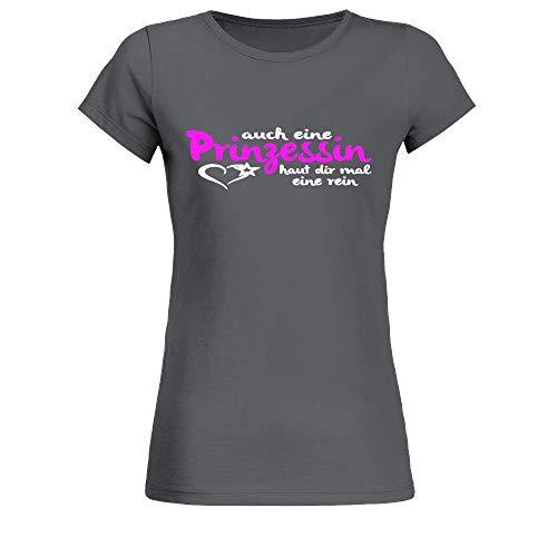 Frauen T-Shirt Prinzessin Haut dir eine rein