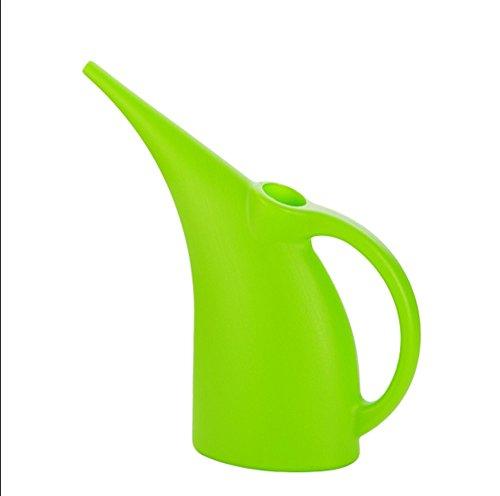 Long bouche en plastique arroseur pot d'arrosage maison vert plante pot pot pot pulvérisateur d'eau pot pot pot horticole bouilloire durable ( Couleur : Vert , taille : 3L )