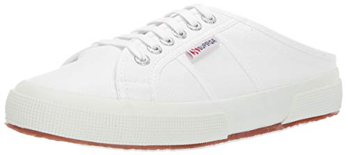 Superga Women's 2402 COTW Sneaker, White, 38 M EU (7.5 US)