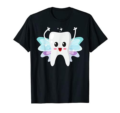Zahnfee T-Shirt, Zahnfee, Milchzahn