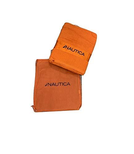 Ducomi Nautica – Toalla de playa 100% algodón – Esponja máxima absorción 150 x 90 cm con...