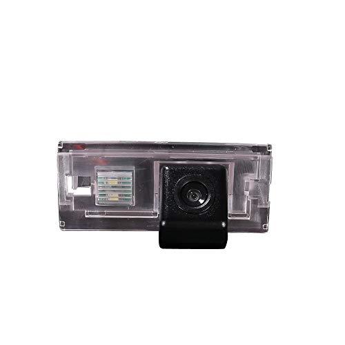Telecamera di retromarcia con luce targa per BMW 3er E46 Coupe Touring Limo Compact Limousine Convertible 4D 5D 316i 318i 320d 323i 328i 330ci 325xi 1998-2005 Bj (7021=73 * 33mm)