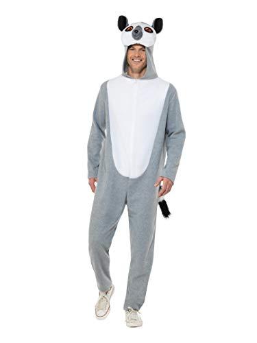 Smiffys 47204L Lemur Kostüm, für Herren