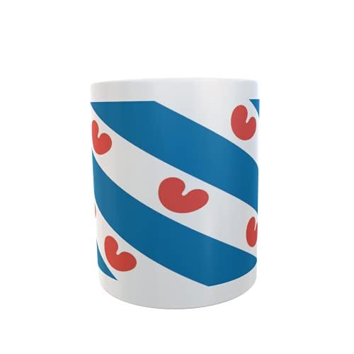 U24 Tasse Kaffeebecher Mug Cup Flagge Friesland (Niederlande)