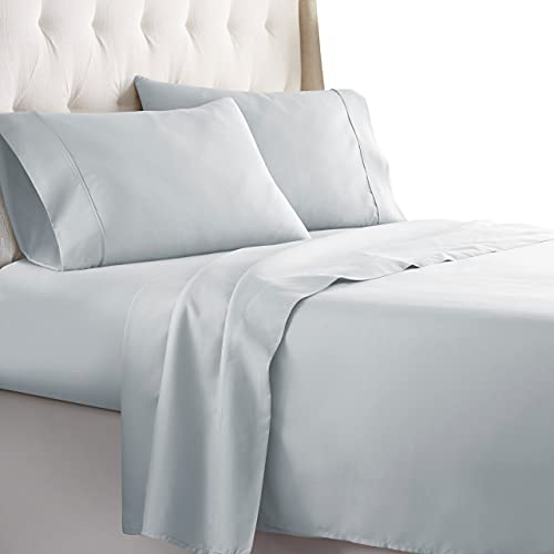 HC Collection Queen Size Sheets Set - Bedding Sheets & Pillowcases w/ 16 inch Deep Pockets - Fade Resistant & Machine Washable - 4...