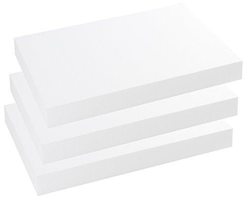 Styroporplatten Stärke 50 mm Maße 50 x 33 cm - 3 Stück