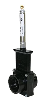 """Valterra 9207S ABS Gate Valve, Black, 2"""" FPT, Metal Air Cylinder from Valterra Products"""
