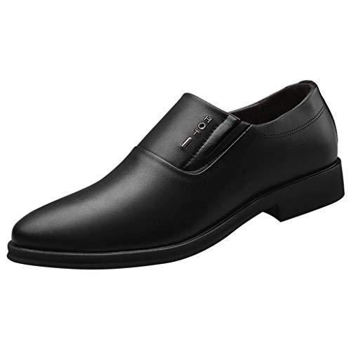 Frashing Schuhe Herren Mode Business Schuhe Leder Classic Stiefel Casual Schnürer Sneaker Halbschuhe Anzugschuhe Lederschuhe Slip on Loafers